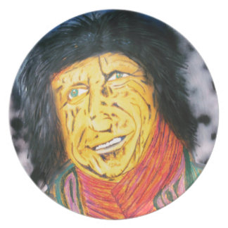 The Wrinkly Rocker Plate