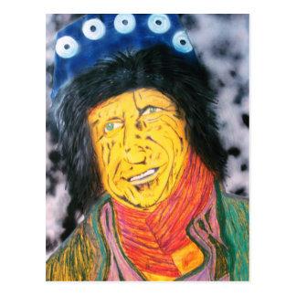 The Wrinkly Rocker Postcard