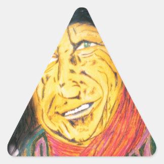 The Wrinkly Rocker Triangle Sticker