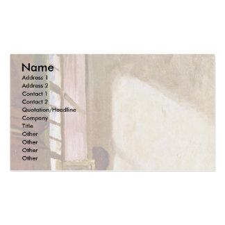 The Writer By Spitzweg Carl Business Card