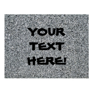 THE WRITING ON THE WALL: GRANITE - (fine grain) ~~ Postcards