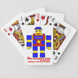 The WRIU Children's Show Playing Cards