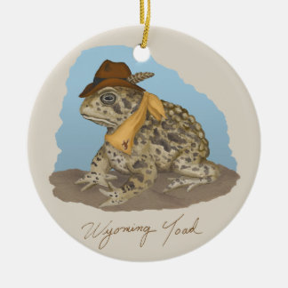 The Wyoming Toad Ornament