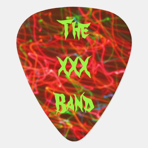 The XXX Band Guitar Pick