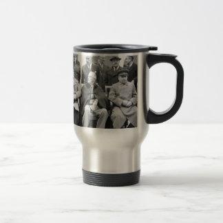 The Yalta Conference World War 2 Travel Mug
