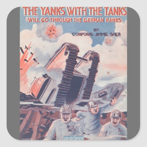 The Yanks With The Tanks Stickers