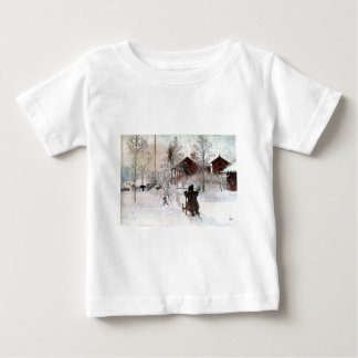 The Yard and Wash-House, Carl Larsson Baby T-Shirt