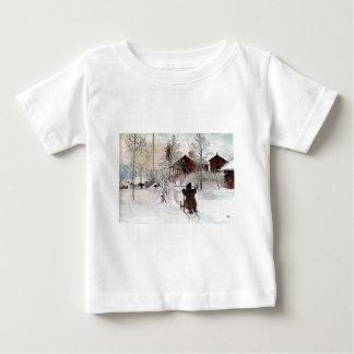 The Yard and Wash-House, Carl Larsson Baby T-Shirt