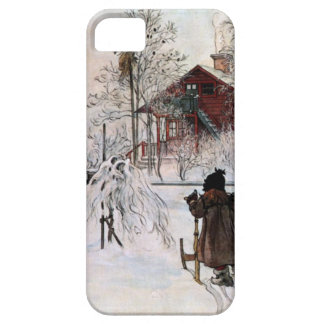 The Yard and Wash-House, Carl Larsson Barely There iPhone 5 Case