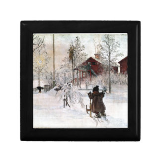 The Yard and Wash-House, Carl Larsson Gift Box