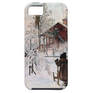 The Yard and Wash-House, Carl Larsson Tough iPhone 5 Case