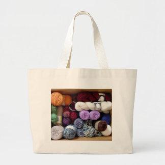 The Yarn Collector's Box Bag