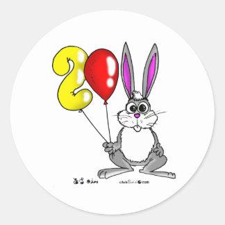 The Year 2011 Rabbit Classic Round Sticker