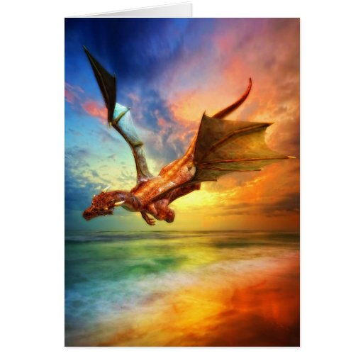 The Year of the Dragon Greeting Cards