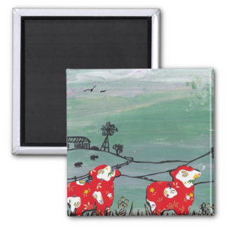 The Year of the Sheep Magnet