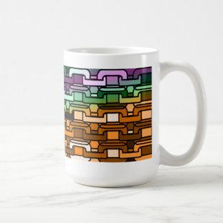 The Yellow Brick Rainbow Basic White Mug