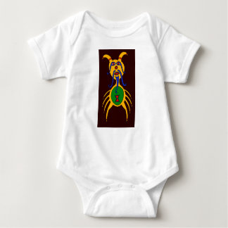 The Yellow Dog Spider Baby Bodysuit