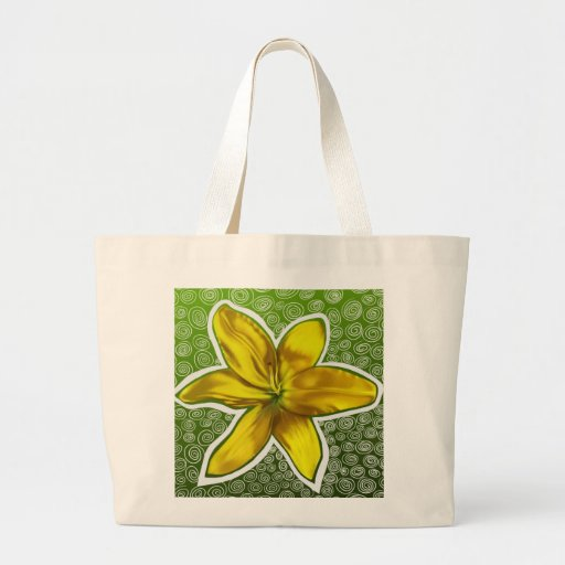The Yellow Flower Bag