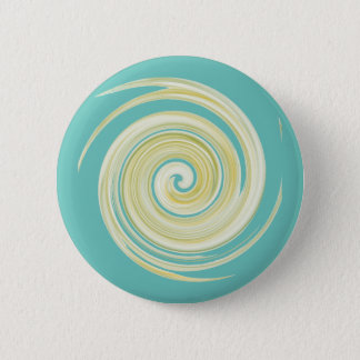 The Yellow Flush: Ode to The Porcelain Throne 6 Cm Round Badge