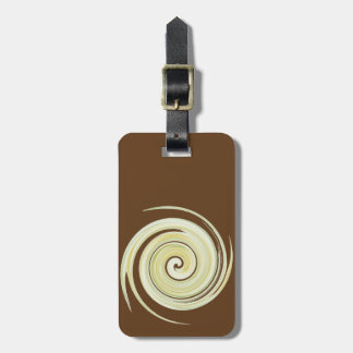 The Yellow Flush: Ode to The Porcelain Throne Luggage Tag