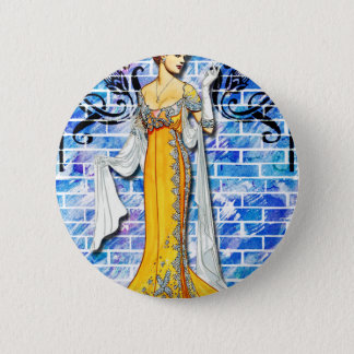 THE YELLOW GOWN 6 CM ROUND BADGE