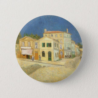 The Yellow House by Vincent van Gogh 6 Cm Round Badge