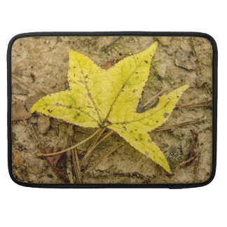 The Yellow Leaf for Mac Laptop Sleeve For MacBook Pro