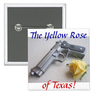 The Yellow Rose of Texas Pin