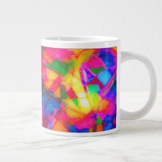 The Yellow Snake Large Coffee Mug