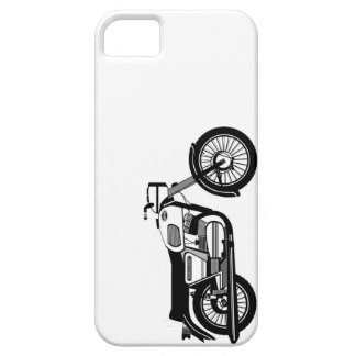 The Yezdi 350 Classic on a ride Case For The iPhone 5