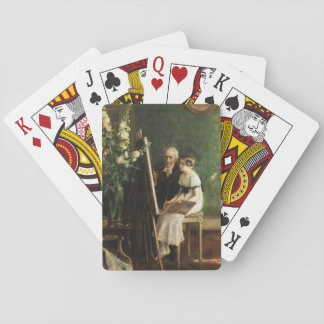 The Young Artist by Muenier Playing Cards