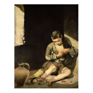 The Young Beggar, c.1650 Postcard
