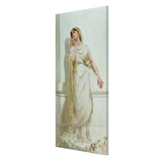 The Young Bride, 1883 Canvas Print