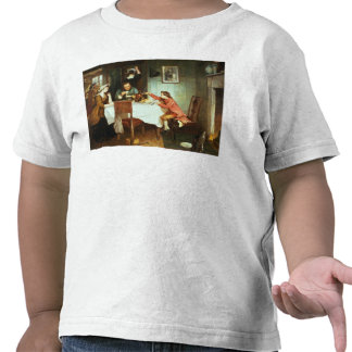 The Young James Watt Playing with Steam T-shirt