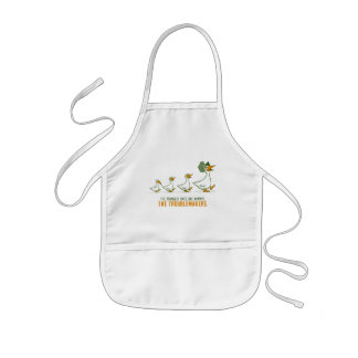 The Youngest Ones Are Always The Troublemakers Kids Apron