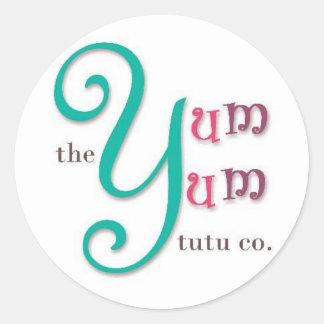 The Yum Yum Tutu Co. Classic Round Sticker