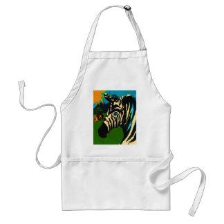 The Zebra Apron
