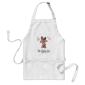The ZigZag Zoo Friend - YorKie Standard Apron