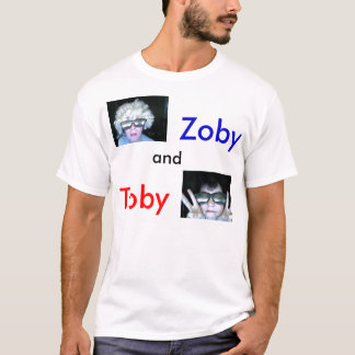 the zoby and toby offical t-shirt