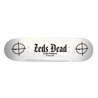 The Zodiac Killer Zeds Dead-PsychoAnon Skateboard