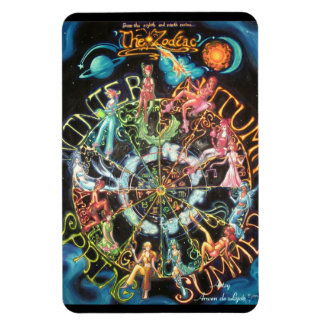The Zodiac Rectangular Photo Magnet