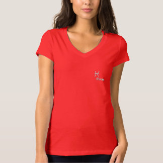 The zodiac sign Pisces T-Shirt