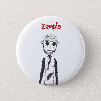 The Zombie 6 Cm Round Badge