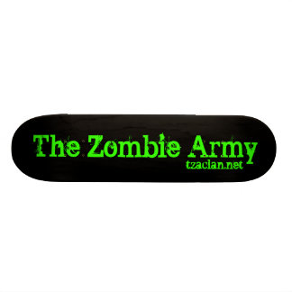The Zombie Army Skateboards