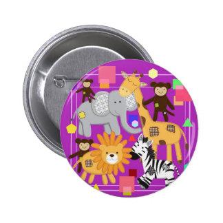 The Zoo. 6 Cm Round Badge
