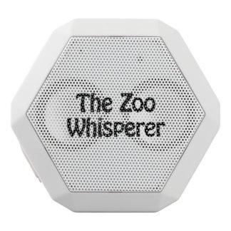 the zoo whisperer white boombot rex bluetooth speaker