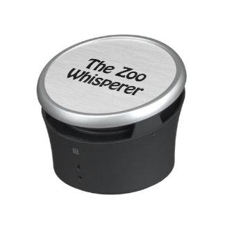 the zoo whisperer bluetooth speaker