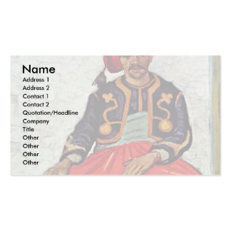 The Zouave By Vincent Van Gogh Pack Of Standard Business Cards