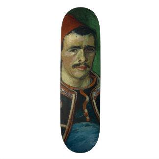 The Zouave by Vincent Van Gogh Skateboard Decks