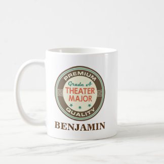 Theater Major Personalized Office Mug Gift